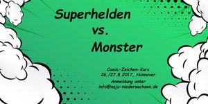 Superhelden vs. Monster